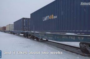 trains running between Finland and China
