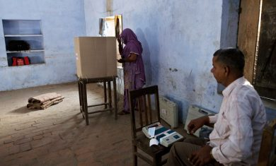 voting -in India