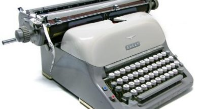 Adler Universal typewriter 1961 vintage