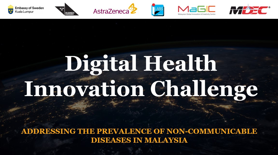 MALAYSIA, SWEDEN TEAM UP TO ORGANISE DIGITAL HEALTH INNOVATION CHALLENGE