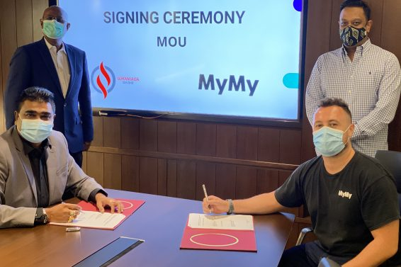 MoU Signing Ceremony Between Sukaniaga and MyMy