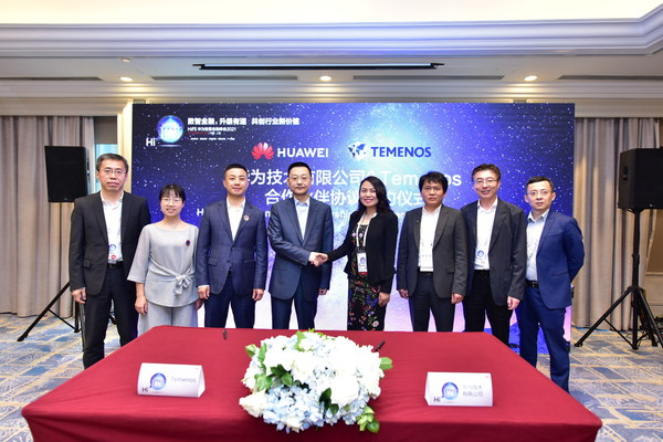 Huawei and Temenos Announce Technology Partnership Agreement