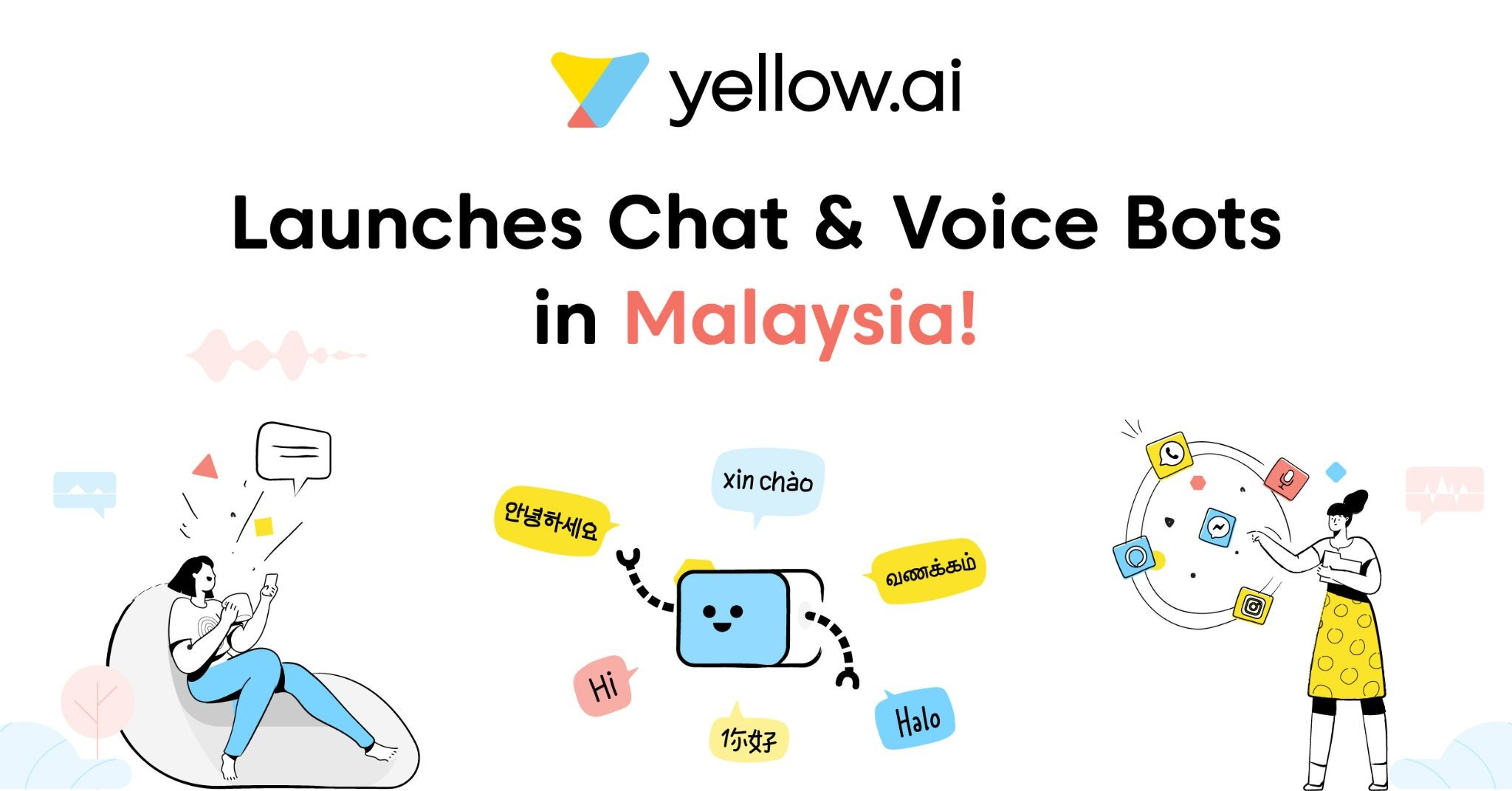 yellow.ai Launches AI Bots and Chat in Malaysia