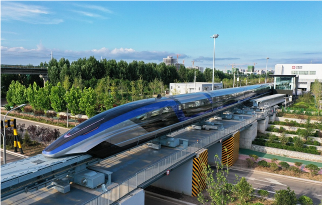 CHINA's CRRC ROLLS OUT WORLD's FASTEST MAGLEV TRAIN