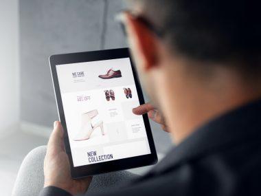 Online shop – Digital tablet