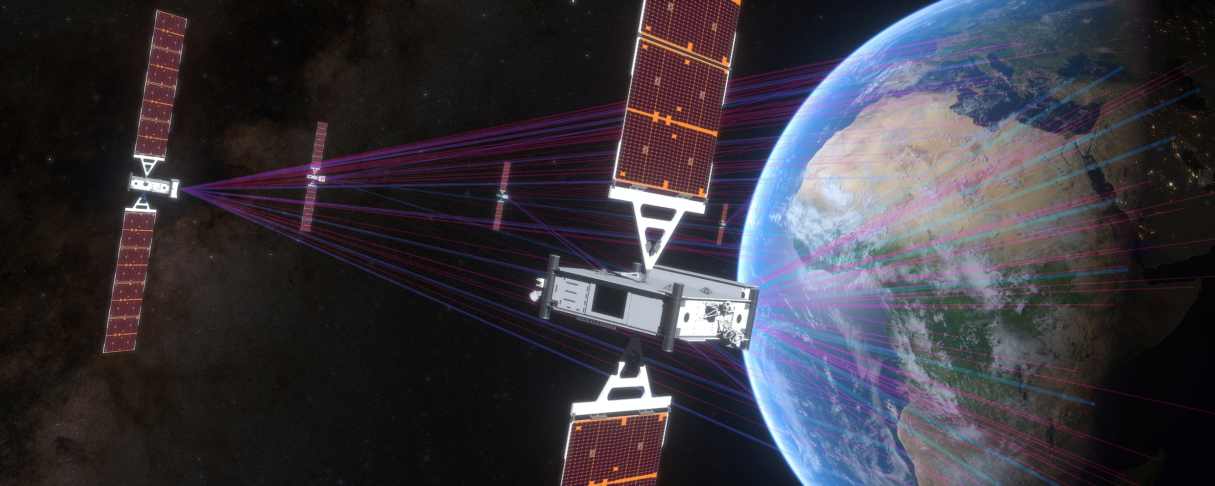 SES Unveils Second-Generation NGSO Constellation at Boeing's El Segundo Facility